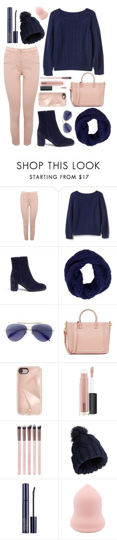 """winter day"" by rocklikeachampion ❤ liked on Polyvore featuring M&Co, Gap, Pedder Red, Tory Burch, Alexander McQueen, Rebecca Minkoff, MAC Cosmetics, Miss Selfridge and Estée Lauder"