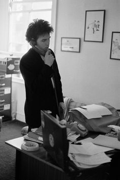 The Cure: Robert Smith by Fin Serck-Hanssen, London 1981