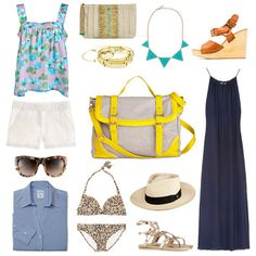 What to Pack For a Weekend Trip via @FabSugar