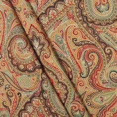 ralph lauren bedding paisley red - Google Search