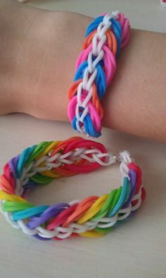 The Triple Linky Chain braclets :)