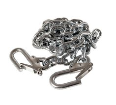 1/4 X 52 inch Zinc Safety Chain with Hooks