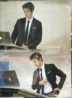 Oh Sehun - when did this cutie pie turn into a very fine young man? Sehun:Home Baekhyun, Park Chanyeol, Sehun Hot, Chanbaek, Exo Ot12, K Pop, Rapper, Sung Joon, Exo Members