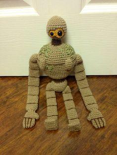 Castle in the Sky / Laputa Robot - crochet