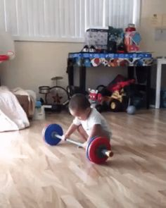 Comme un champion ! http://www.15heures.com/gif/Bjb9 #CUTE