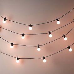Bistro Bulb Fairy Lights (20 Bulbs) | Christmas | The White Company
