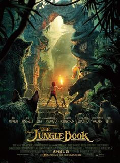 New reward! Bring home the wild adventure of Disney's The Jungle Book today with this beautiful 1-sheet teaser poster. Get details: http://www.disneymovierewards.go.com/rewards/disney-jungle-book-payoff-1sheet-poster-8296?cmp=DMR|PIN|REWARD|JungleBookPoster