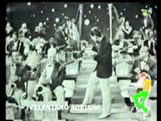 """ADRIANO CELENTANO -""""IL TUO BACIO E' COME UN ROCK"""" (brano con cui il 13-07-1959 vince il Festival di Ancona e che vende, nella prima settimana, ben 300.000 copie). Celentano è un cantautore, ballerino, showman, attore, regista e produttore italiano. È soprannominato il Molleggiato per via del suo modo di ballare. In tutta la sua carriera Celentano ha venduto circa 150 milioni di dischi. Adriano Celentano è l'artista italiano con le più alte vendite di dischi stimati, a pari merito con Mina."""