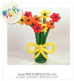 Un mazzo di #fiori creativo d'effetto #arancio #giallo