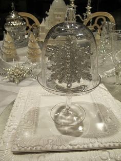 cloches for seasonal tablescapes