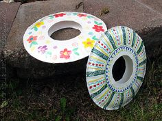 Summer Craft - Paper Plate Frisbees