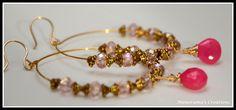 Maya Earrings by ManoramasCreations on Etsy