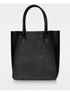 Phoebe big tote - black Smooth Leather, Suede Leather, Edgy Look, You Bag, The Balm, Dust Bag, Big, Black, Black People