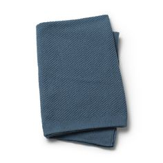 Moss-Knitted Blanket - Tender Blue. From Elodie Details, BABY ACCESSORIES SS18