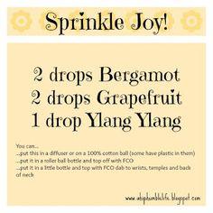 A Hip & Humble Life!: Sprinkle Joy Blend