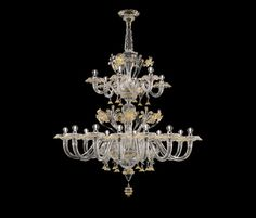Meknes by Barovier&Toso | Ceiling suspended chandeliers