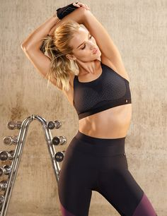 Rosie Huntington-Whiteley Designed the Workout Clothes of Your Dreams via @WhoWhatWear