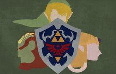 Legend of Zelda Wallpaper/Poster by Blacnarf.deviantart.com on @deviantART