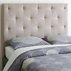 Beds/Headboards - Diamond Tufted Headboard | west elm - diamond, tufted, headboard