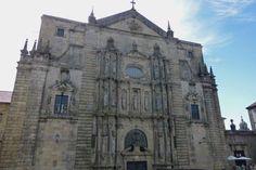 Iglesia de San Martín Pinario en Santiago de Compostela