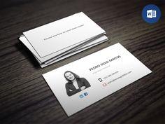 Queres destacar-te da multidão?  Cria o teu cartão pessoal a partir deste modelo editável em Word...  #emprego30dias | www.noctulastore.com