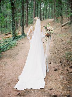 Fine Art Garden Wedding Inspiration