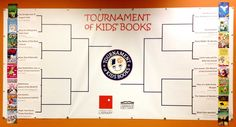 March is so close we can smell it. Tourney time. At the Lawrence Public Library that means one thing: TOURNAMENT OF KIDS' BOOKS! The most checked out kids' books of last year go head-to-head, tourney style; the winner to be voted by the kids of Lawrence! Brackets are available at the library and on the library's website. First round voting starts March 1. And remember kids— Only you can help your favorite book in the battle to greatness.