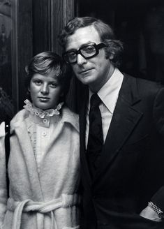 Michael Caine and Nikki Caine, 1973 Vintage Classics, Too Cool For School, School Fashion, Champs, Role Models, Gq, Cowboy Hats, All About Time, Nice Dresses
