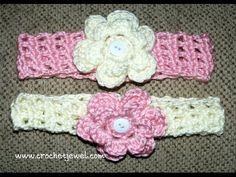 Crochet Headband with Interchangeable Flower | Crochet Creative Creations | Bloglovin'