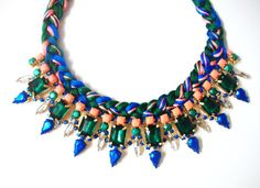 G I N A Braided Necklace by TrendBoutique on Etsy, $75.00