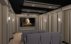 a theater room similar to this