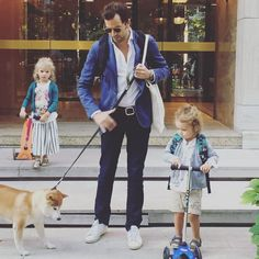 One more back to school pic but this time with Alex our founder and his happy family  #maralexkids #family #kids #shibainu #backtoschool #boys #girls #paris