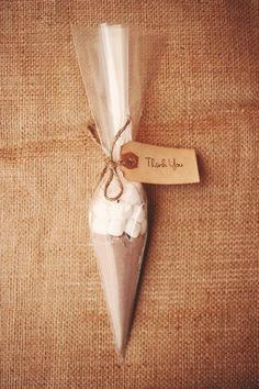 Found on Weddingbee.com Share your inspiration today! WINTER FAVORS