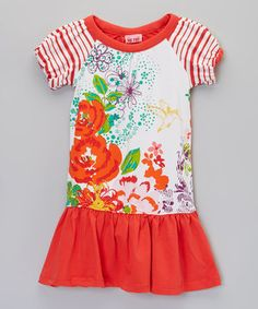 This Tomato Helen Dress - Toddler & Girls by Me Too is perfect! #zulilyfinds
