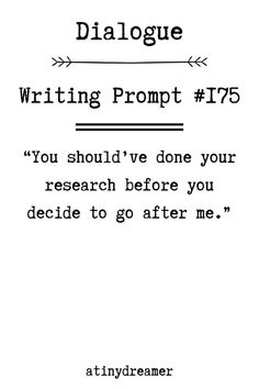 Fiction Writing Prompts, Book Prompts, Dialogue Prompts, Creative Writing Prompts, Book Writing Tips, Writing Words, Writing Quotes, Writing Skills, Writer Prompts