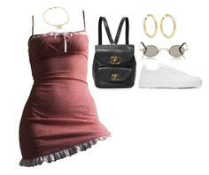 """""""2611"""" by eviebull on Polyvore featuring Jennifer Fisher, Roberi & Fraud, Jil Sander and Chanel"""