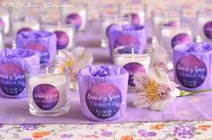 Velas aromaticas para bodas detalles personalizados para invitados.  Consultas y encargos: eljaboncasero@gmail.com
