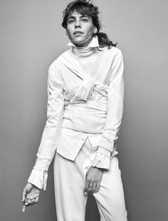Styleby Magazine Photographer Phillip Messman, Stylist Columbine Smille, Model Mari Giudicelli, Make-Up Aya Komatsu, Hair Eric Jamieson