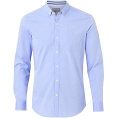 Witchery Sandhill Shirt (21.460 HUF) ❤ liked on Polyvore featuring men's fashion, men's clothing, men's shirts, men's casual shirts, mens blue button down shirt, mens button up shirts, mens navy blue button up shirt, mens blue shirt and mens button down shirts