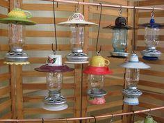 mason jar bird feeders 41