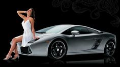 widescreen backgrounds car and girl, 486 kB - Satchel Brook