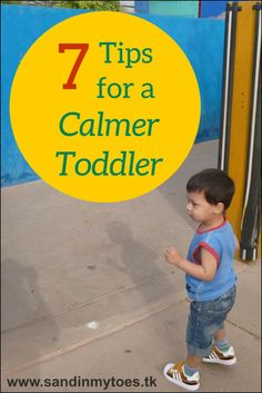 Some ways in which you can help your toddler stay in a calmer state of mind.
