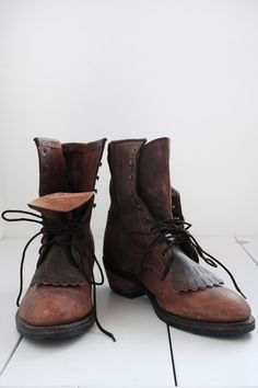 brown leather | boots