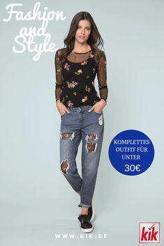 c355b858911228 Finde dein perfektes Outfit & kombiniere aktuelle Trends mit schicken  Basics | Kreiere deinen eigenen Look jetzt auf www.kik.de. Mode Handel  Tracker