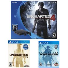 PS4 Slim Uncharted w/Rise of Tomb Raider $249.99!