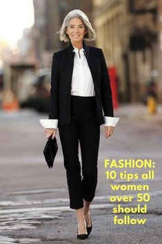 FASHION: 10 tips all women over 50 should follow. . . . #trendy #trending #clothes #fashion #women #50 #oldwoman #old #tips #fashiontips #womensfashionclothingover50 #women'sfashionover50yearolds