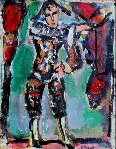 Georges Rouault. 1871-1958. Divertissement 1943. 15 huiles sur le thème du cirque. Cateau Cambrésis