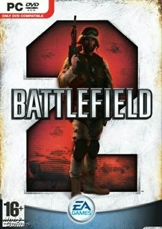 Battlefield 2 - oficial DVD cover for PC - Google - February 2012