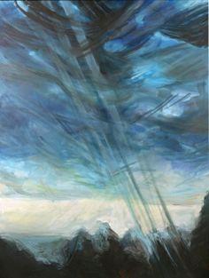 mraky - Malba