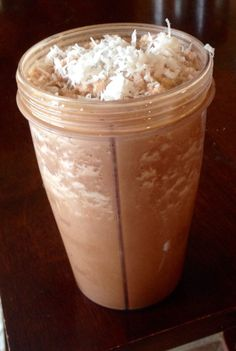 21 Day Fix Mocha Coconut Blended Coffee | PhenomMom Fitness